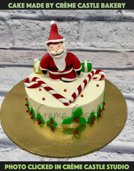 Christmas Plum Cake 3D design - cremecastle