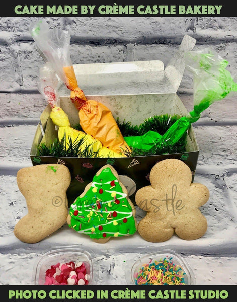 Christmas DIY Cookie Kit for kids - cremecastle