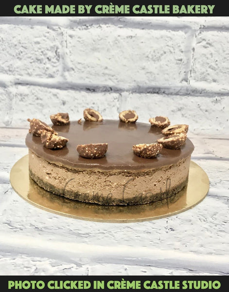 Ferrero Rocher Cheesecake - cremecastle