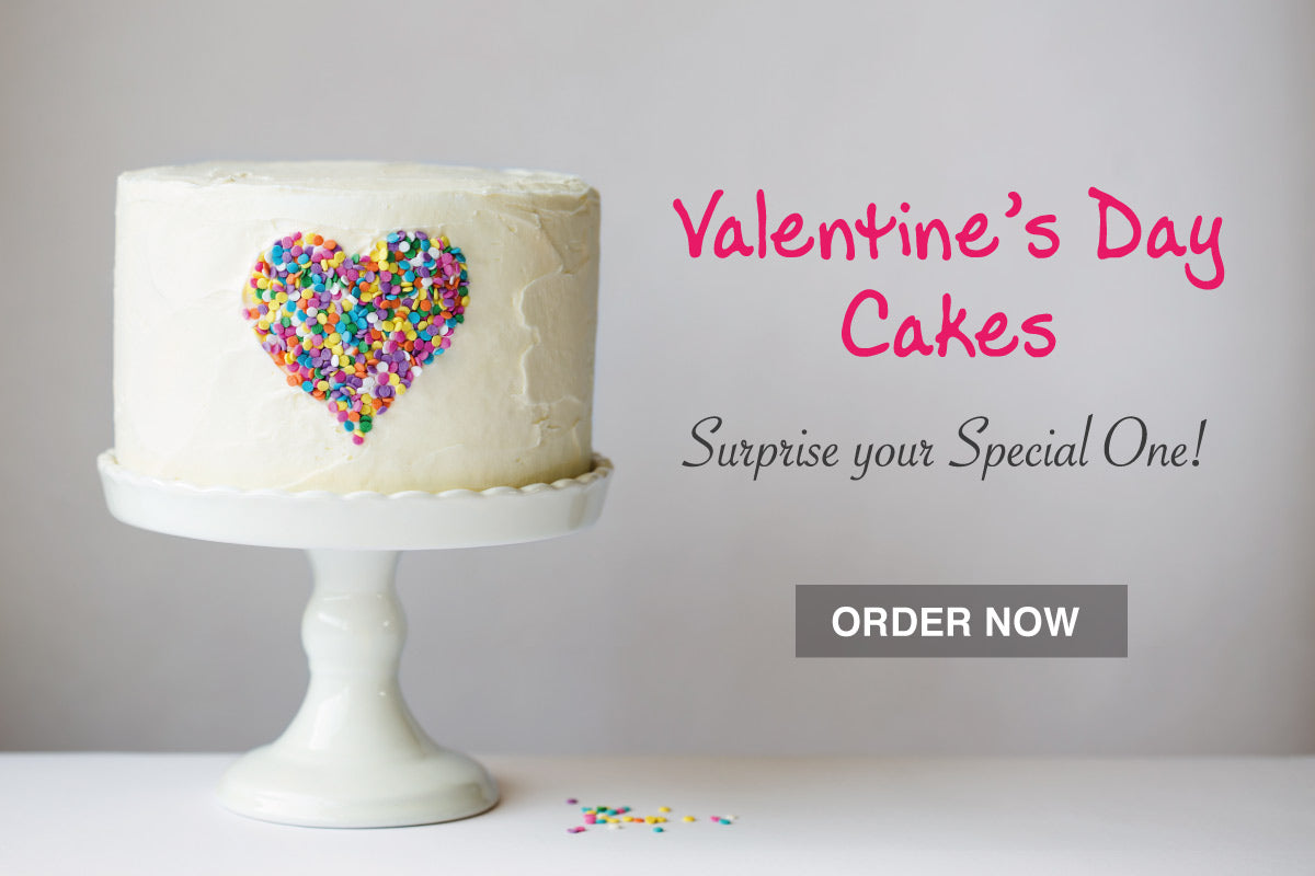 Order Valentine's Day Cake for Husband,
