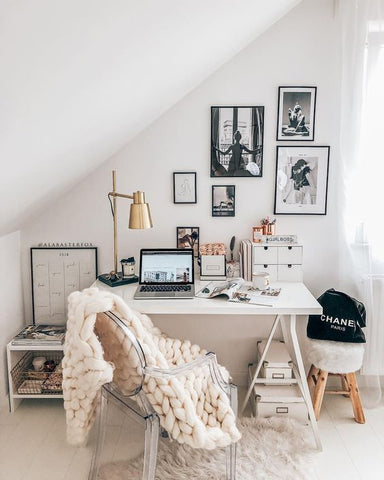 Home Office Ideas Scandinavian Decor