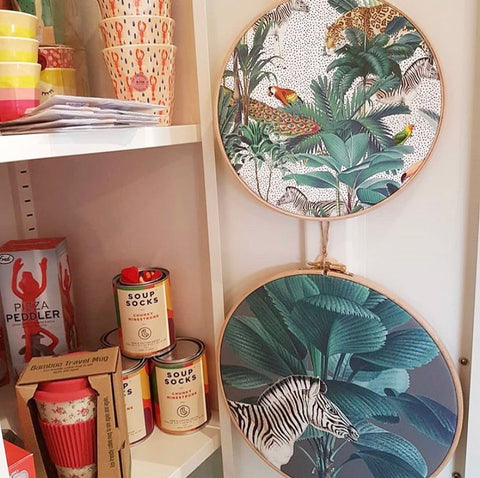 The Manor Gift Shop Mode Prints stockist