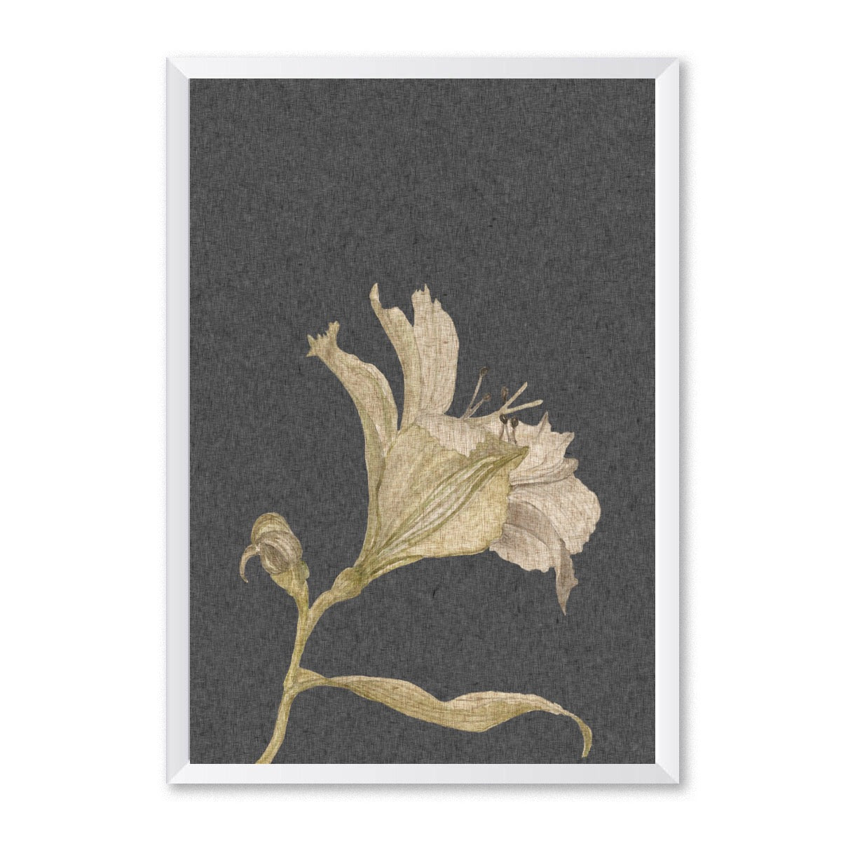 Vintage Botanical Leaf Poster-Print-Mode Prints