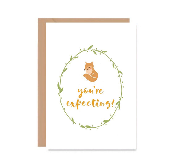 Congratulations You Are Expecting New Baby Card - Mode Prints