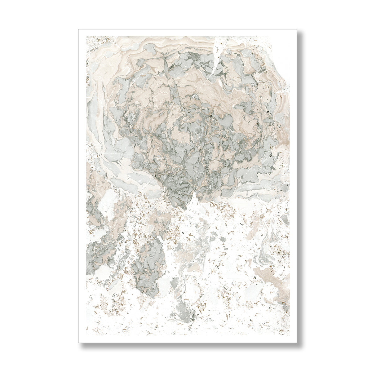 Marble Abstract Poster Print-Print-Mode Prints