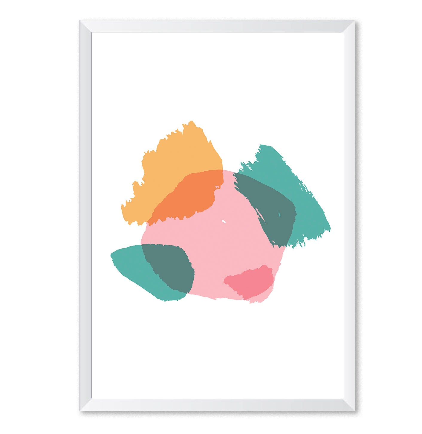 Abstract Colour 1 Modern Poster Print-Print-Mode Prints