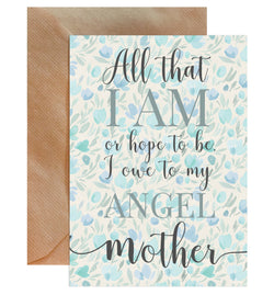 Mother's Day Quote Greeting Card - Mode Prints