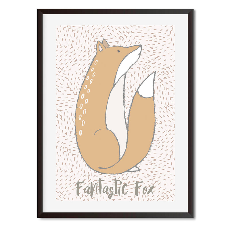 Fantastic Fox  Wall Art Print - Mode Prints