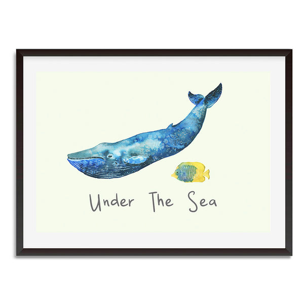 Under The Sea Wall Art Print