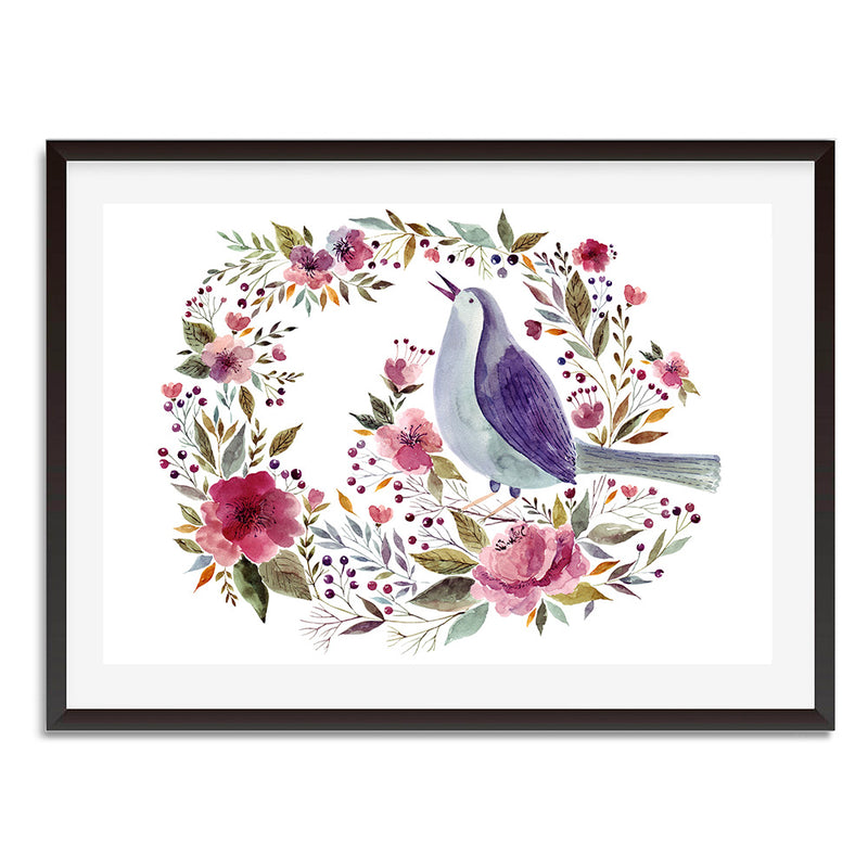 FLORAL ELEGANCE 1 Wall Art Print - Mode Prints