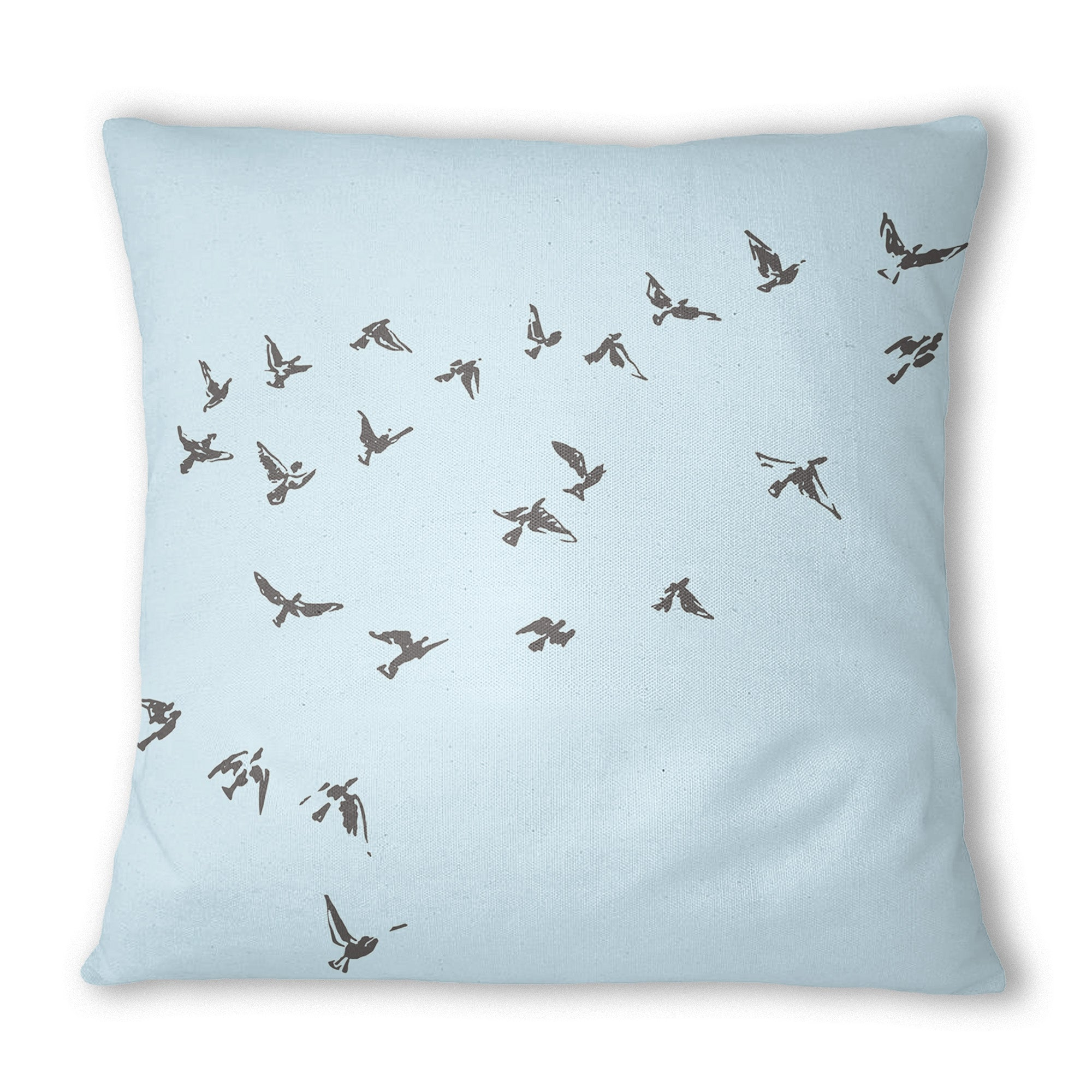 Blue Birds Cushion