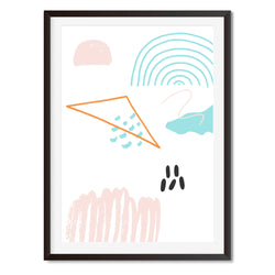Watercolour Abstract Modernist Wall Art Print - Mode Prints