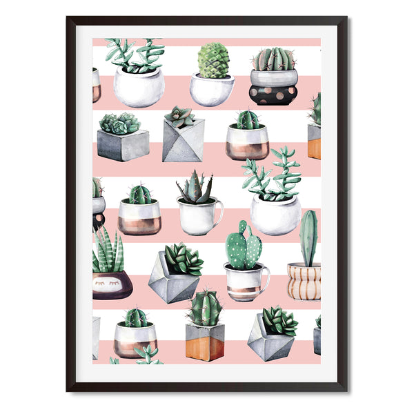 Cacti 3 Wall Art Print - Mode Prints