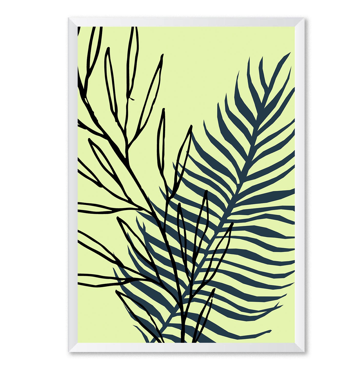 Botanical Pop 3 Abstract Poster Print-Print-Mode Prints