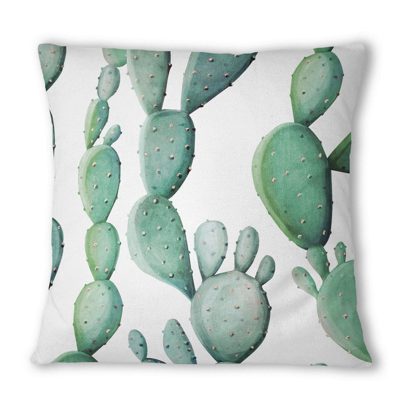 Cactus Pattern Cushion - Mode Prints