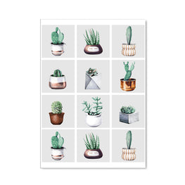 Cactus House Plant Notebook