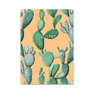 Cactus Leaf Plant Notebook