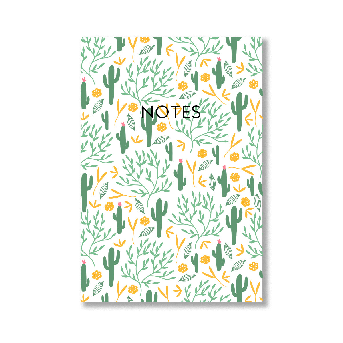 Cactus Print Notebook-Notebook-Mode Prints