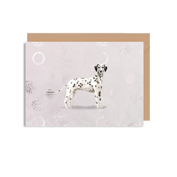 Dalmatian Blank Greeting Card - Mode Prints