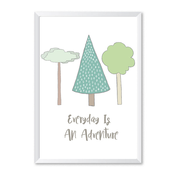 Everyday Is An Adventure Poster Print-Print-Mode Prints
