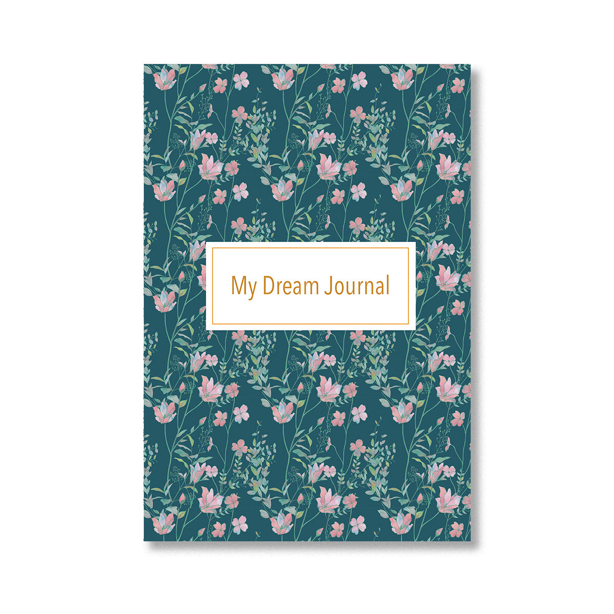 Floral Dream Journal Notebook