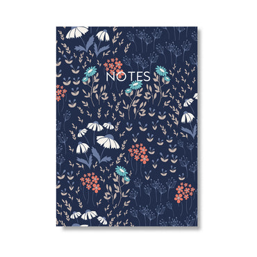 Floral Fancy Notebook-Notebook-Mode Prints