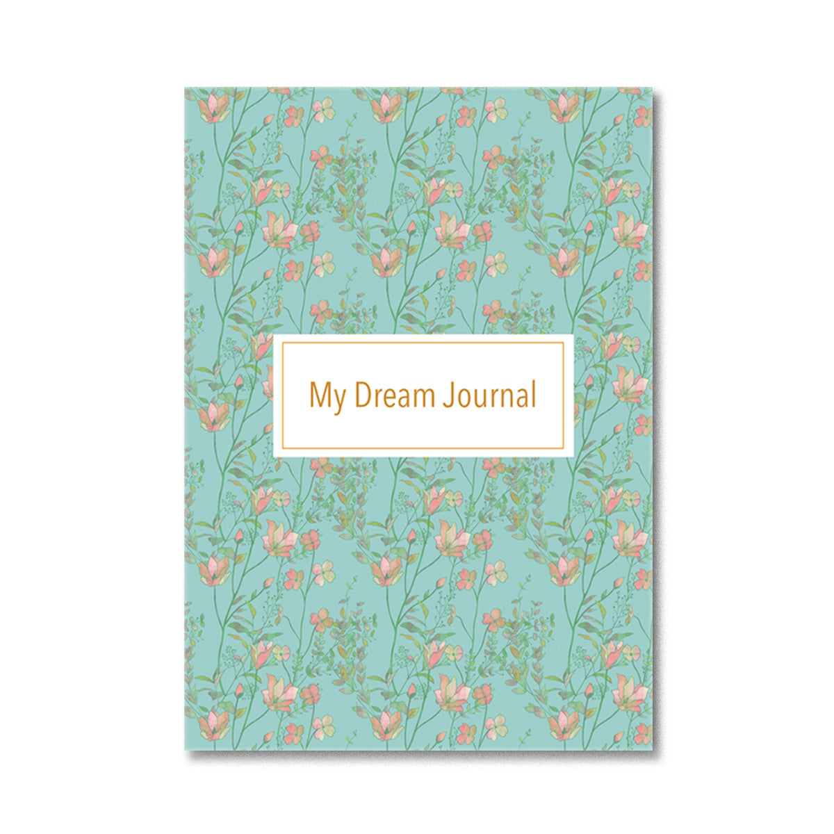 Floral Tropical Dream Journal Notebook