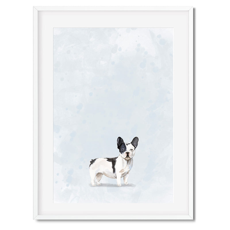 French Bulldog Watercolour Dog Print