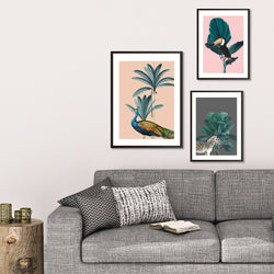 Tropical Jungle Gallery Wall Art Print Set - Mode Prints