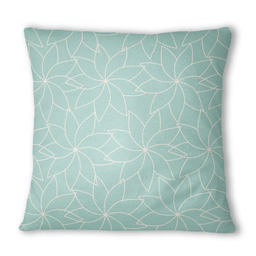 Green Floral Mandala Cushion