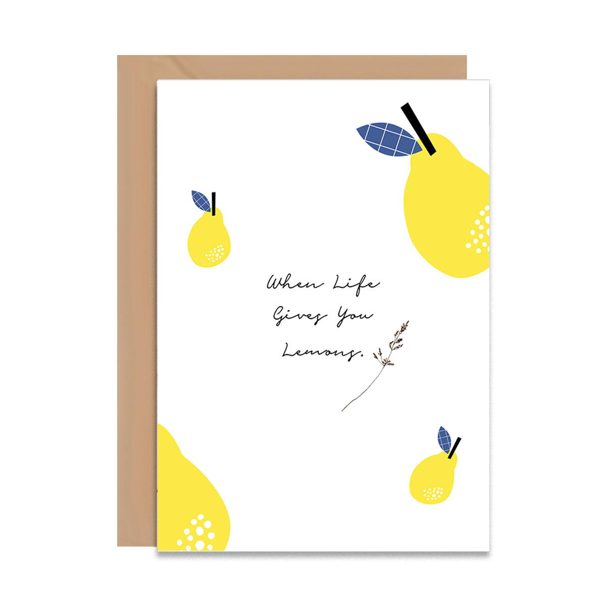 When Life Gives You Lemons Card-Greeting Cards-Mode Prints