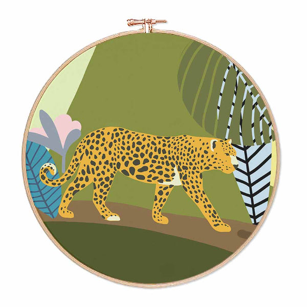 Jungle Leopard Hoop