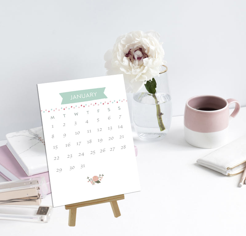 2019 Desk Calendar - Mode Prints