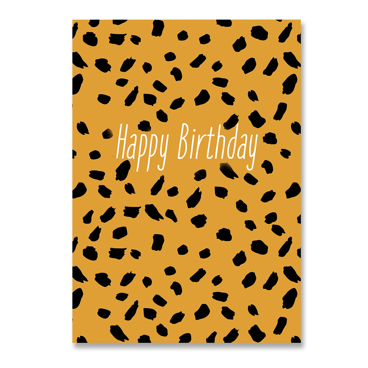 Happy Birthday Tiger Card-Greeting Cards-Mode Prints
