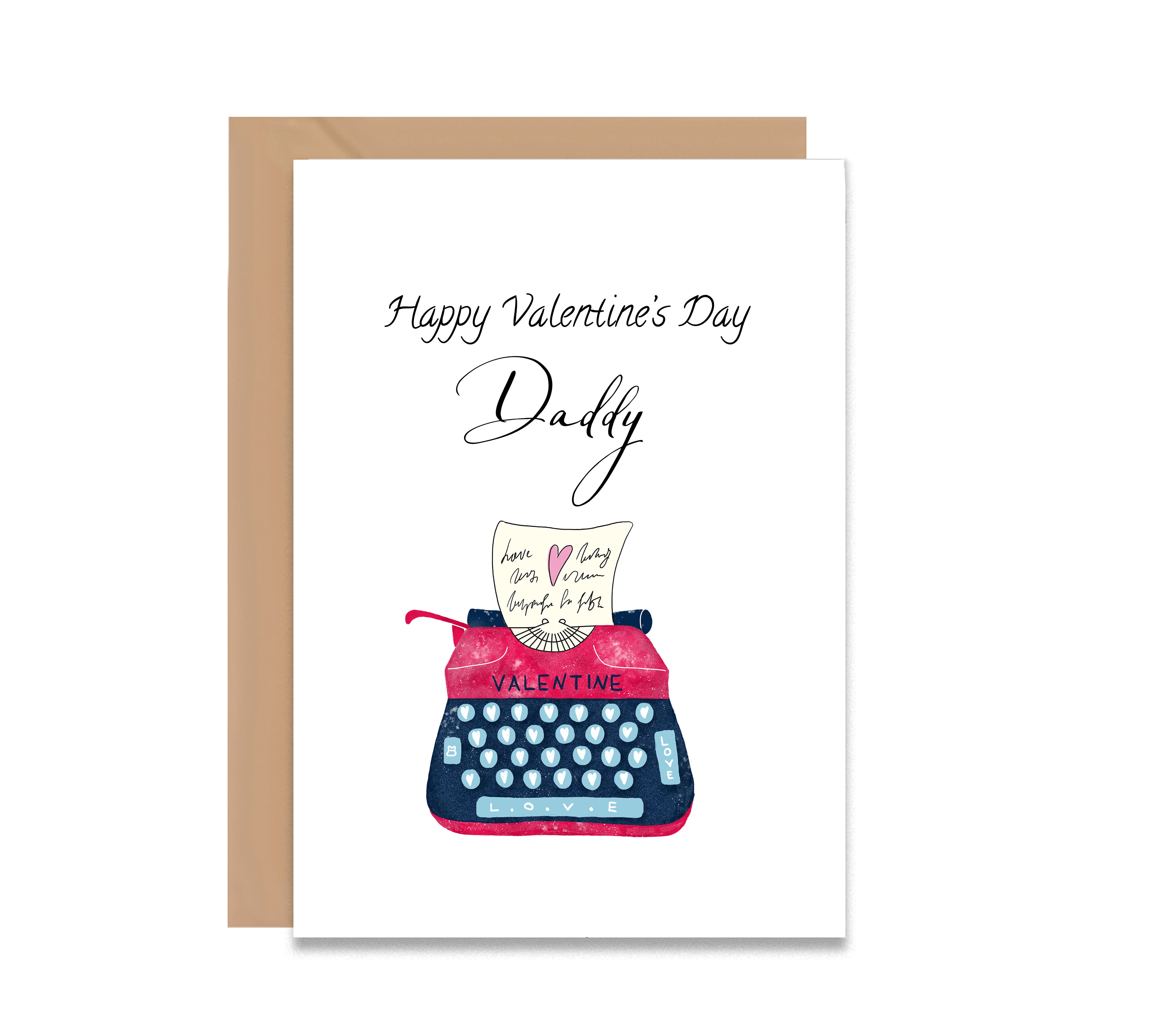 Personalised Valentine's Day Greeting Card
