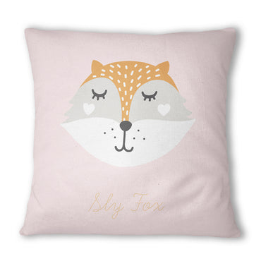 Sly Fox Pink Cushion