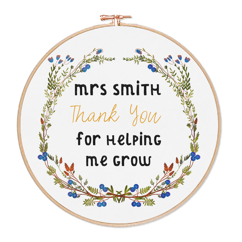 Personalised Teacher Hoop