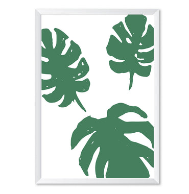 Monstera Pop Poster Print