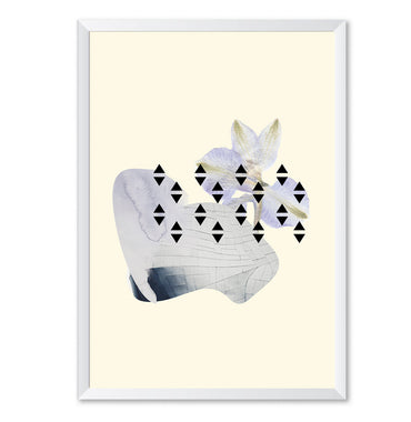 Organic Shapes Art Poster Print