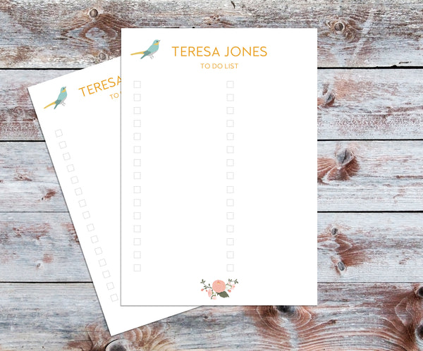 Personalised To Do List Notecards Set - Mode Prints