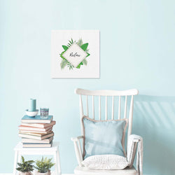 Relax Botanical Canvas Art Print