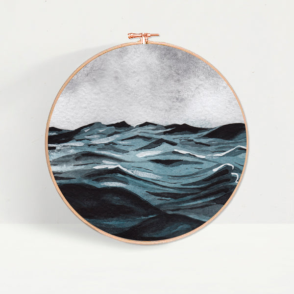 Seascape Wave Hoop