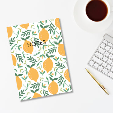Sicilian Lemon Notebook-Notebook-Mode Prints