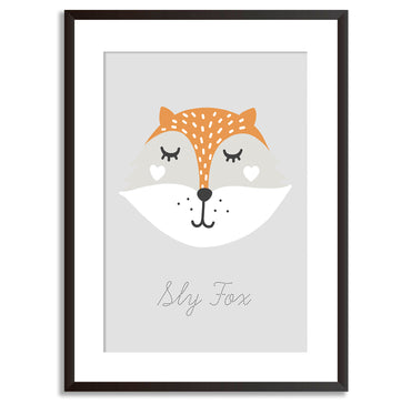 Sly Fox Poster Print