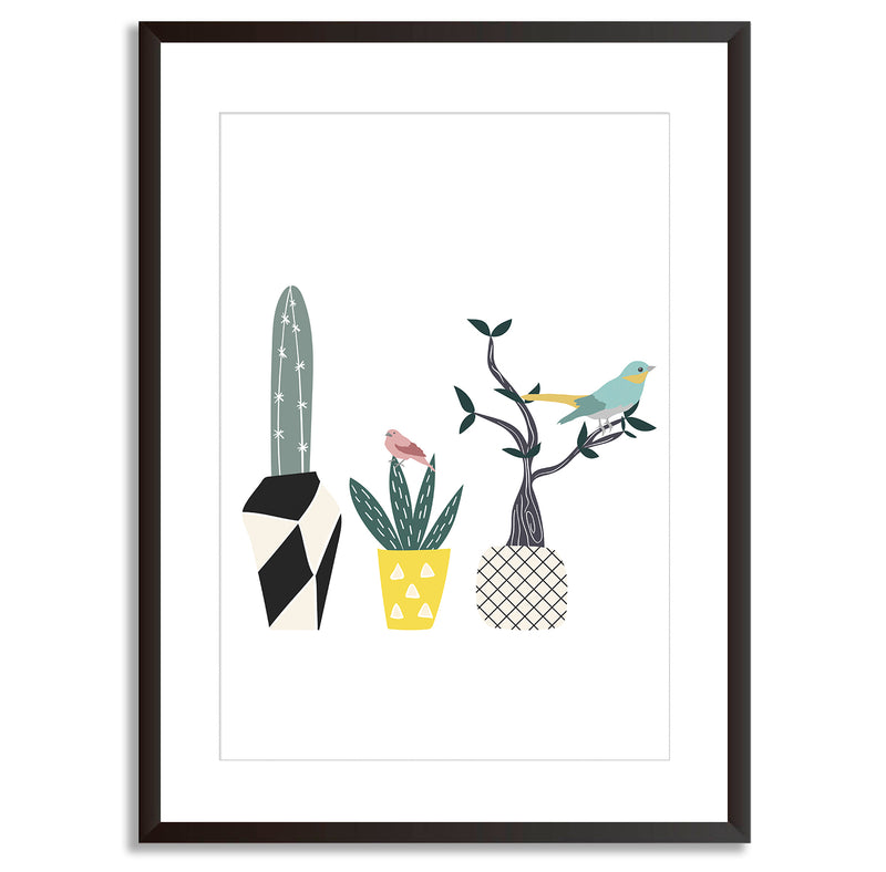Spring Birds Wall Art Print - Mode Prints