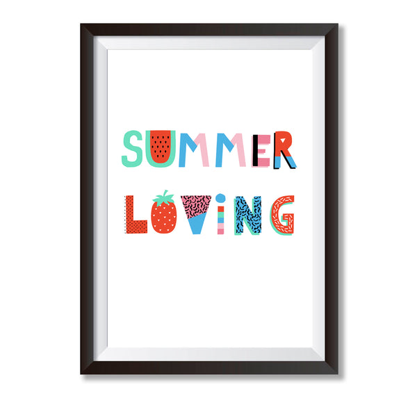 Summer Loving Print - Mode Prints