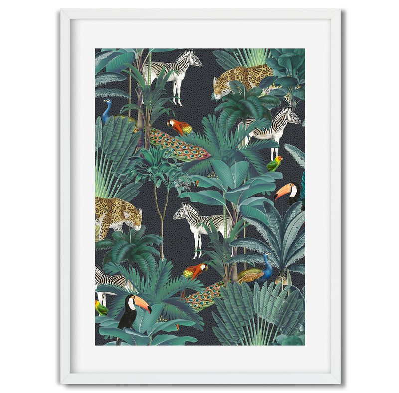 Tropical Jungle Wall Art Print - Mode Prints