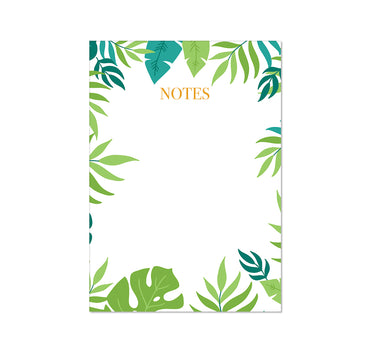 Tropical Leaf Notepad-Notepaper Sets-Mode Prints