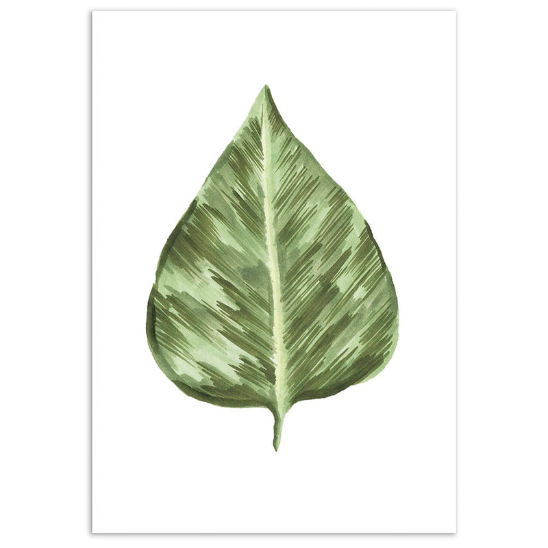 Botanical Leaves 4 Wall Art Print