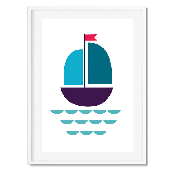 Sailing Boat Wall Art Print